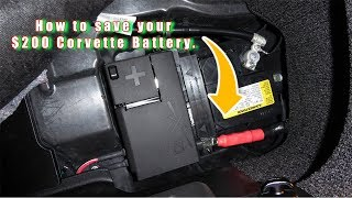 Download How to protect your battery on your corvette Bachman Chevrolet Video
