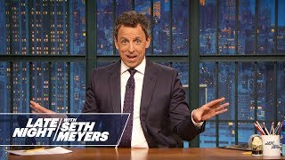 Download Seth Meyers' Wife Gave Birth in Their Apartment Lobby Video