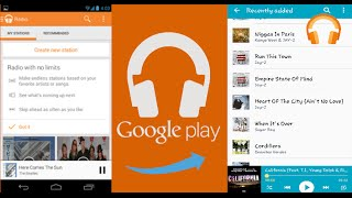 Download How to download Google Play Music onto a phone's Music Player Video