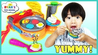 Download Play Doh Breakfast Cafe toys for Kids with Waffle Maker Video