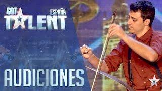 Download Un instrumento insólito sorprende a los Jueces | Audiciones 1 | Got Talent España 2016 Video