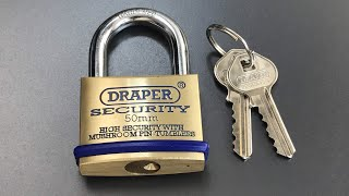 Download [504] Draper 8302/50 Padlock Picked and Milled Open Video
