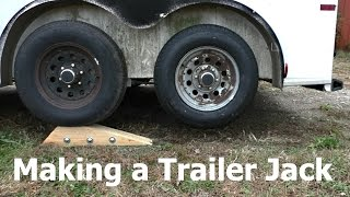 Download Making a Tandem Axle Trailer Jack Video
