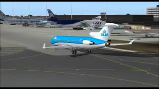 Download BOEING 727 200 KLM ROYAL DUTCH AIRLINES NC TAKE OFF FROM SCIPHOL AIRPORT AMSTERDAM FS9 HD Video