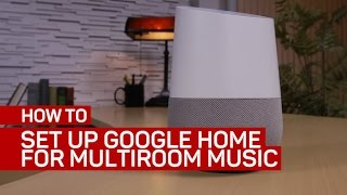 Download How to set up Google Home as part of a multiroom music system Video