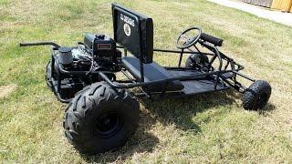 Download Go Kart ride along - Predator 420cc - GoPowerSports Video