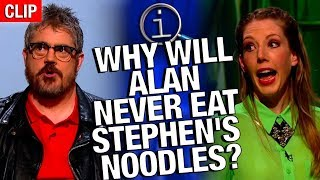 Download QI | Why Will Alan Never Eat Stephen's Noodles? Video