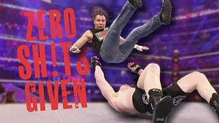 Download WWE Wrestlers Who BROKE Kayfabe & Didn't Care About Their Match (Went Off Script - Zero F**** Given) Video