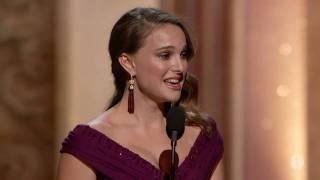 Download Natalie Portman winning Best Actress Video