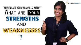 Download What are your Strengths and Weaknesses? | interview questions & Answers Video