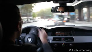 Download Straight Piped BMW M5 Terror - Drifts, Donuts and Burnouts Video
