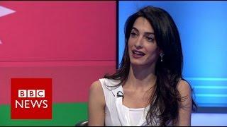 Download Amal Clooney: 'Why I'm defending Azerbaijani journalist (Khadija Ismayilova)' - BBC News Video