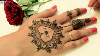 Download Cute Heart With Love Easy Simple Girlish Mehndi Design For Valentines Day|Stylish Mehendi Video