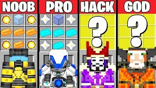 Download Minecraft Battle: POWERFUL ARMOR CRAFTING CHALLENGE - NOOB vs PRO vs HACKER vs GOD ~ Animation Video
