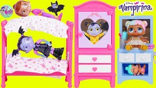 Download LOL Surprise Dolls Lil Sisters Morning Routine with Vampirina Video