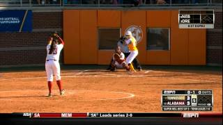 Download Lady Vol Softball vs Bama Super Regional Game 2 Video