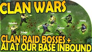 Download CLAN WARS + CLAN RAID BOSSES - BASE PROTECTORS INBOUND - Last Day On Earth Survival 1.6.10 Update Video