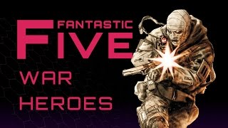 Download 5 Best Comic War Heroes - Fantastic Five Video