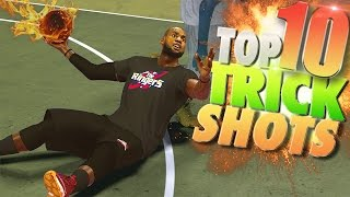 Download NBA 2K17 TOP 10 Rare TRICK SHOTS! Video