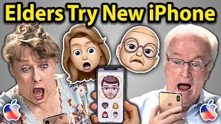 Download Elders Try To Use New iPhone XS | Elders React Video