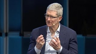 Download Tim Cook Defends Apple's Encryption Policy Video