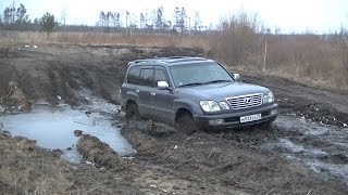 Download Lexus LX 470, Land Cruiser 100, Niva 3D и др. Off-Road, грязь, снег... Video