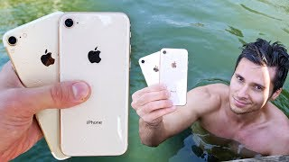 Download iPhone 8 vs 7 Water Test! Secretly Waterproof? Video