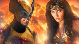 Download WONDER WOMAN vs WOLVERINE - ALTERNATE ENDING - Super Power Beat Down Video