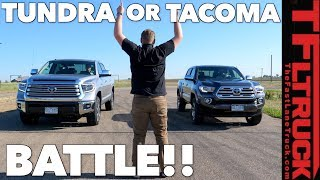 Download Compared: Tacoma vs Tundra - Watch This Before You Buy a Toyota Truck! Video