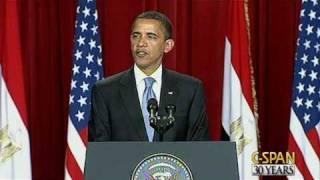 Download President Obama Speech to Muslim World in Cairo Video