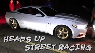 Download 700hp C6 Corvette vs 600hp Terminator Cobra, Turbo BMW, Mustang 5.0 - STREET RACING Video