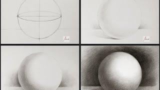 Download Cách vẽ khối Cầu [Hình Khối Cơ Bản] Video