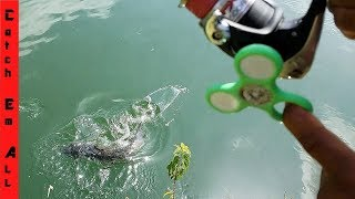 Download FIDGET SPINNER Fishing Challenge Bloopers Video