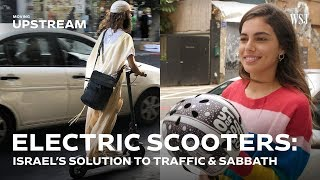 Download Electric Scooters: Israel's Two-Wheeled Solution to Traffic and Sabbath Video
