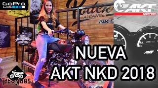 Download NUEVA AKT 125 NKD MODELO 2018    PRIMERAS IMPRESIONES    VLOG #6    AKT NKD MODIFICADA Video