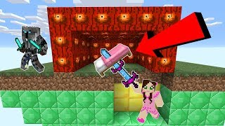 Download Minecraft: *INFINITE DAMAGE* EYE LUCKY BLOCK BEDWARS! - Modded Mini-Game Video