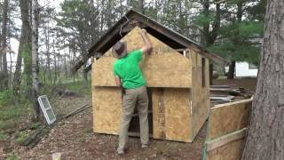 Download Got Free Truckload Of OSB & Putting Sheathing On Chicken Coop Video