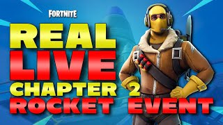 Download LIVE REACTION TO EVENT AND FIRST LOOK FORTNITE CHAPTER 2 - THE END IS HERE Video