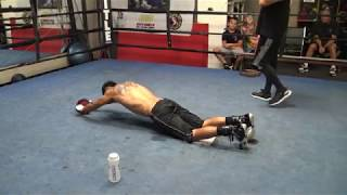 Download Victor Ortiz abs workout - EsNews Boxing Video