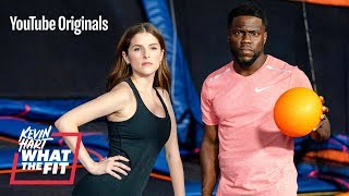 Download Trampoline Dodgeball with Anna Kendrick and Kevin Hart Video