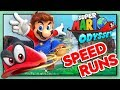 Download NO DAMAGE SPEEDRUN ATTEMPTS | Super Mario Odyssey Any% Speedruns Video