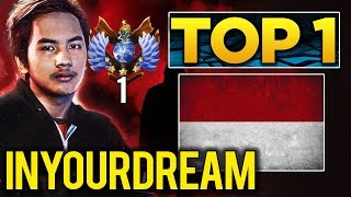 Download TOP 1 MMR in the World - inYourdreaM SEA Star Player - Dota 2 Video