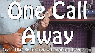 Download One Call Away - Charlie Puth - Ukulele Tutorial - Beginner Ukulele Video