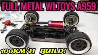 Download FULL METAL WLTOYS A959 3000KV 100km/h Target CRAZY BUILD! Part 1 Video