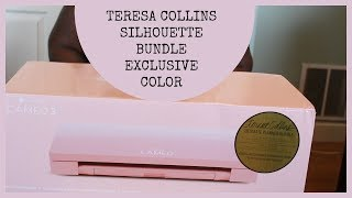 Download Unboxing Silhouette Teresa Collins Exclusive Cameo 3 Bundle Video