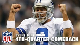 Download Every Tony Romo 4th-Quarter Comeback Victory! | Tony Romo Retires | NFL Video