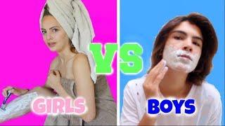 Download בנים VS בנות שגרת בוקר | ביחד עם עילי דלויה Video
