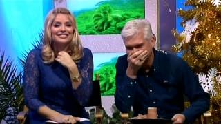 Download Holly says ″knocked up″ and more - This Morning 5th December 2013 Video