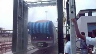 Download AUTOMATIC TRAIN WASH PLANT (FRONT-REAR & TOP WASH).MOV Video