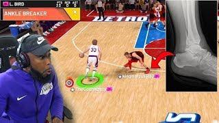 Download PINK DIAMOND LARRY BIRD BROKE BLAKE GRIFFIN ANKLES! NBA 2k19 Video